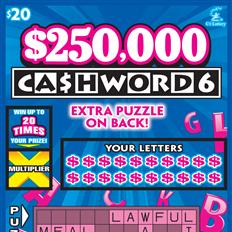$250,000 CASHWORD 6 thumb nail